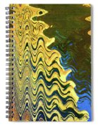 Sand At The Beach Abstract Spiral Notebook