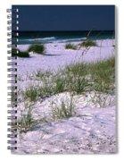 Sand Beach And Grass Spiral Notebook