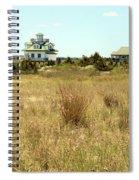 Sand Beach House Spiral Notebook