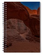 Sand Dune Arch II Spiral Notebook