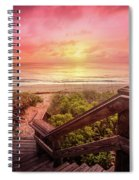 Sand Dune Morning Spiral Notebook
