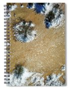 Sand Dune With Snow Spiral Notebook