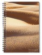 Sand Dunes 2 Spiral Notebook