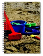 Sand Fun 1 Spiral Notebook