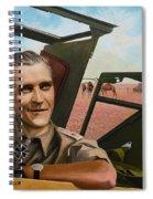 Sand Man Spiral Notebook