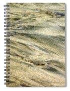 Sand Pattern Spiral Notebook