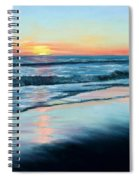 Sand Reflections Spiral Notebook