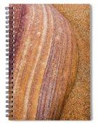 Sand Stone Spiral Notebook