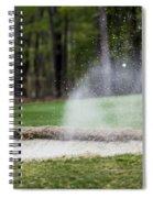 Sand Trap Spiral Notebook