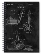 Sand Wedge Patent Spiral Notebook