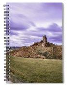 Sandal Castle  Spiral Notebook