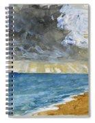Sandgate Beach. Kent  Spiral Notebook