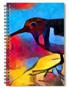Sandpiper Spiral Notebook