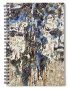 Sandsey Beaches Fragmented Spiral Notebook