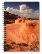 Sandstone Dragon Portrait View Spiral Notebook