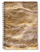 Sandstone Formation Number 3 At Starved Rock State Spiral Notebook