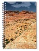 Sandstone Landscape Valley Of Fire Spiral Notebook