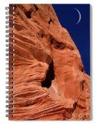 Sandstone Moon Spiral Notebook