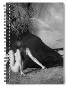 Sandstone Pinup Spiral Notebook