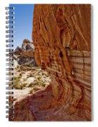 Sandstone Texture Spiral Notebook