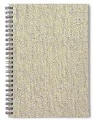 Sandy Beach Detail Lined Texture Background Spiral Notebook
