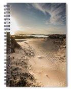 Sandy Beach Haven Spiral Notebook