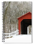 Sandy Creek Covered Bridge Spiral Notebook