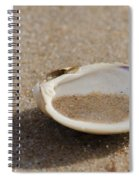 Sandy Dish Spiral Notebook