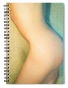 Sandy Dune Nude - The Torso Spiral Notebook