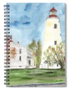 Sandy Hook Lighthouse Spiral Notebook