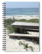 Sandy Picnic Table Spiral Notebook
