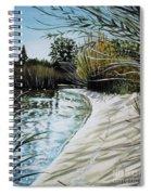 Sandy Reeds Spiral Notebook