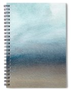 Sandy Shore- Art By Linda Woods Spiral Notebook