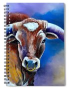 Sandy's Longhorn Bull Spiral Notebook