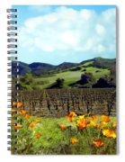 Sanford Ranch Vineyards Spiral Notebook