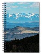 Sangre De Cristo And Collegiate Peaks Spiral Notebook
