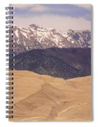 Sangre De Cristo Mountains And The Great Sand Dunes Spiral Notebook