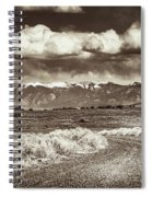 Sangre De Cristo Mountains Spiral Notebook