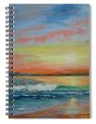 Sangria Beach Spiral Notebook