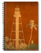 Sanibel Island Lighthouse Spiral Notebook