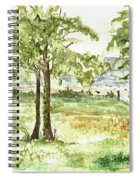 Sanibel Shores Sketch Spiral Notebook