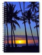 Sans Souci Sunset Waikiki Spiral Notebook