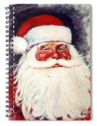 Santa 1 Spiral Notebook