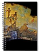 Santa Barbara Hall Of Murals Spiral Notebook