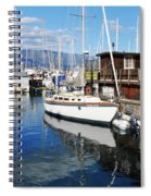 Santa Barbara Harbor Spiral Notebook