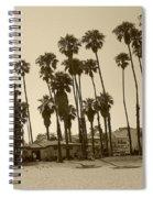 Santa Barbara Palms Spiral Notebook