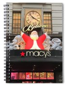 Santa Believe  Spiral Notebook