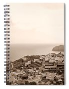 Santa Catalina At La Gomera Spiral Notebook