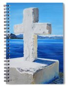 Santa Catarina's Cross Spiral Notebook