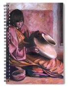 Santa Clara Potter Spiral Notebook